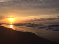 Sunrise in Myrtle Beach, SC